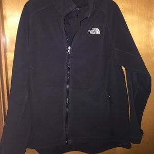 North Face jacket-charcoal